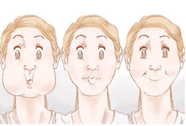 cách giảm béo mặt và cằm tại nhà, cách giảm béo mặt và cằm, giảm béo mặt và cằm, cách giảm mỡ mặt và cằm