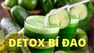 cách làm detox bí đao giảm cân, detox giảm cân bằng bí đao, detox giảm cân từ bí đao,