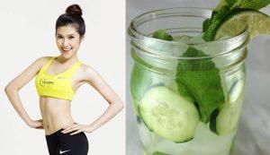 Cách làm detox giảm cân với dưa chuột