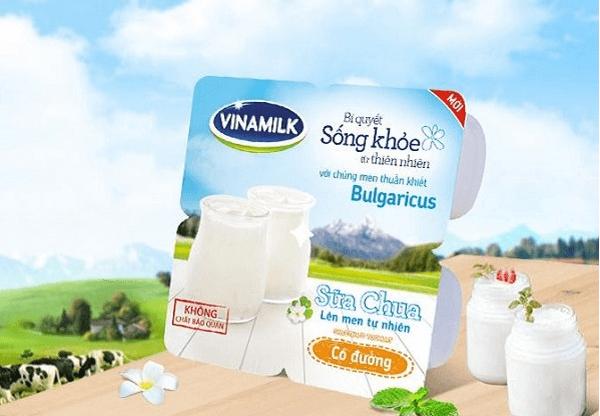 Một hộp sữa chua Vinamilk bao nhiêu calo? Thành phần sữa chua Vinamilk