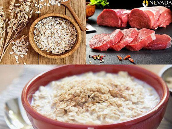Giảm 10kg cấp tốc với cách nấu cháo yến mạch thịt bò giảm cân đơn giản
