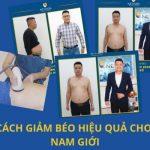 """Cách giảm béo hiệu quả cho nam giới """"hủy nhanh"""" 10kg mỡ chỉ trong 8 ngày"""