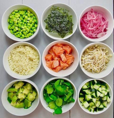 món poke giảm cân , món poke giảm cân là gì, poke giảm cân, Giảm cân cấp tốc với poke, poke salad